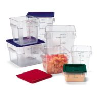 PC Clear Square Storage Containers